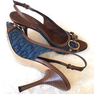 daa56dbe19c Women s Gucci Slingback Heels on Poshmark